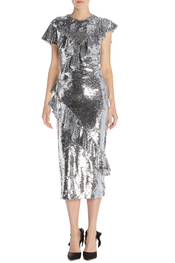Silve Sequin Holiday Dress