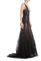 Black Evening Gown ML