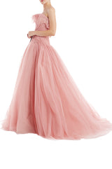Spring 2019 Monique Lhuillier Evening Gown