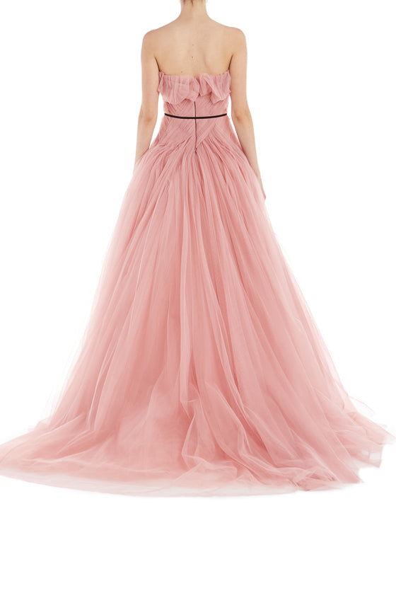 Rose Ready to Wear Gown Monique Lhuillier