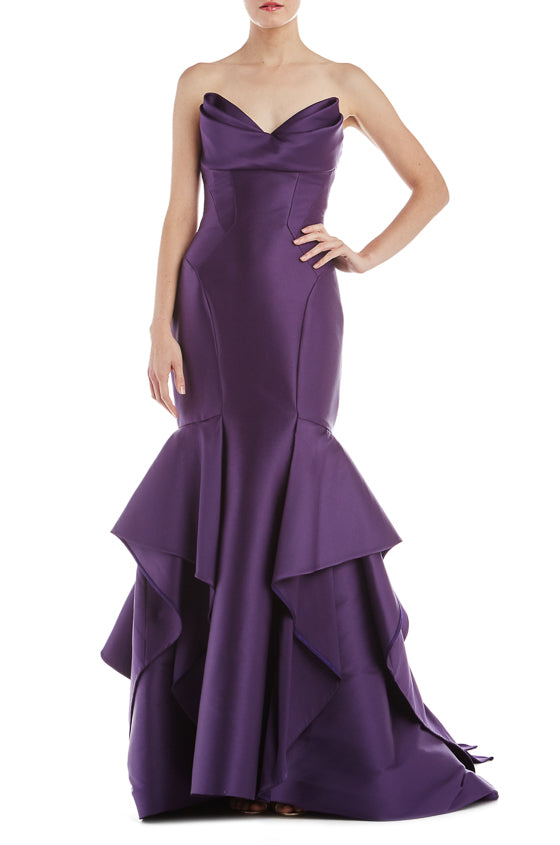 Strapless Trumpet Gown- FINAL SALE