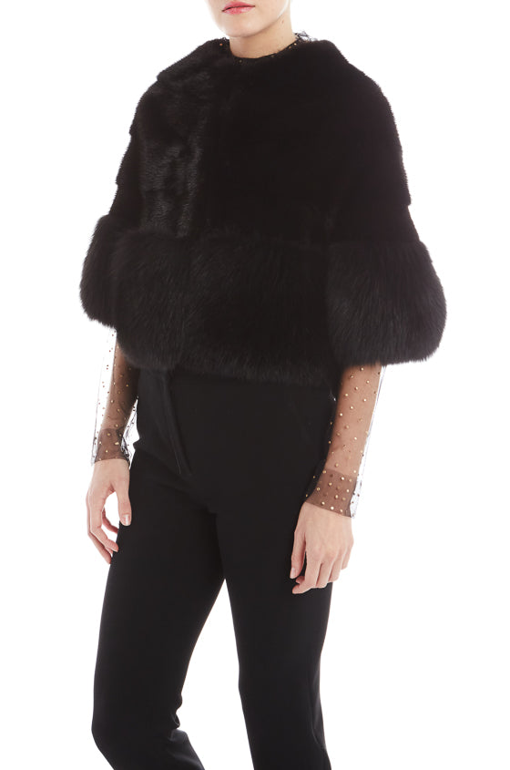 Monique Lhuillier Mink Fur Jacket