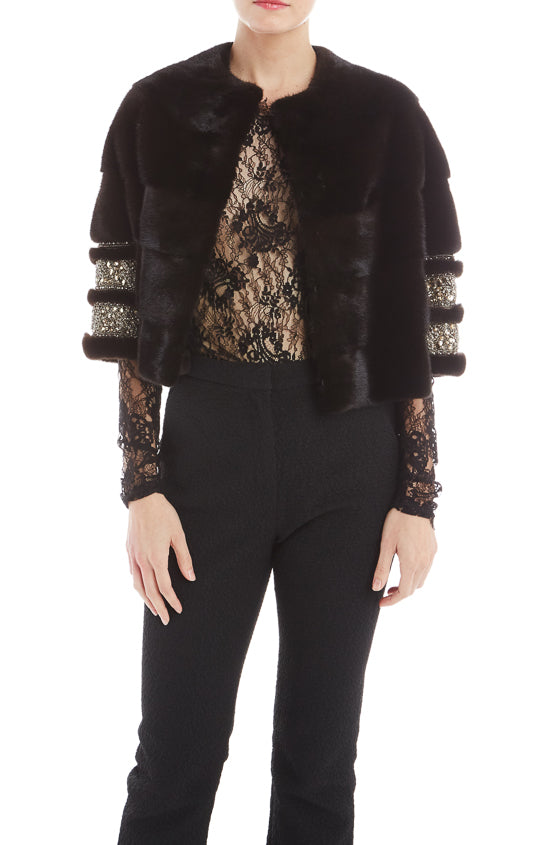 Mink Jacket Monique Lhuillier
