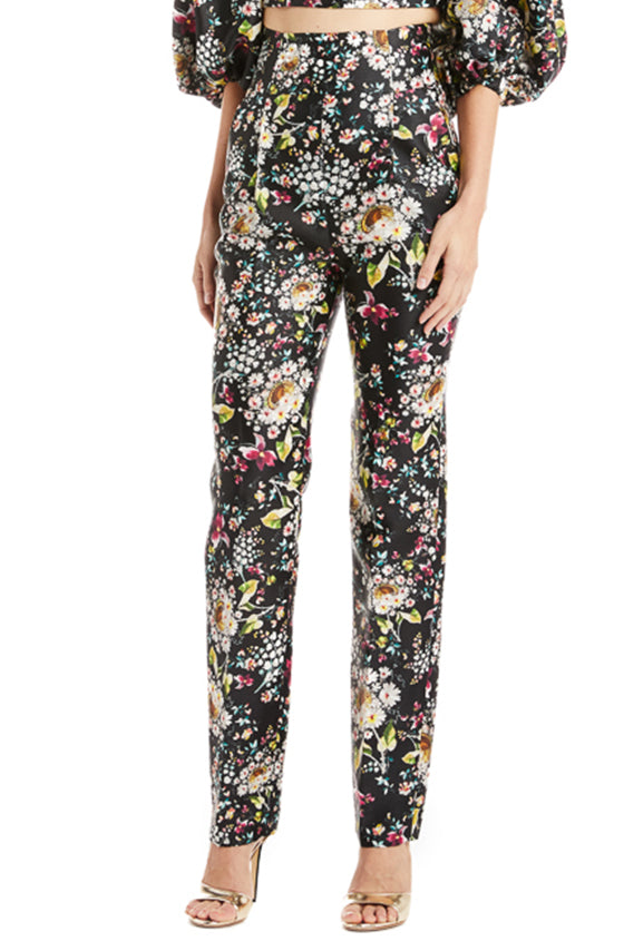 Monique Lhuillier Floral pant