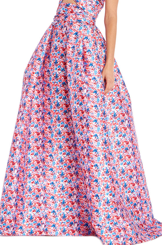 Monique Lhuillier Full A-Line Skirt