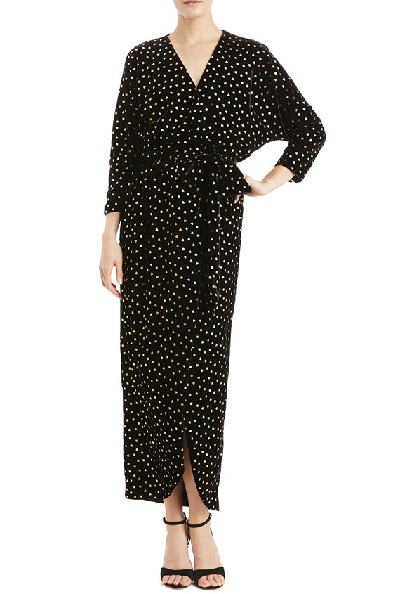 Monique Lhuillier Wrap Dress