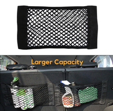 Load image into Gallery viewer, Universal Trunk Organizer (Bigger Size) - Mesh Net Storage Bag