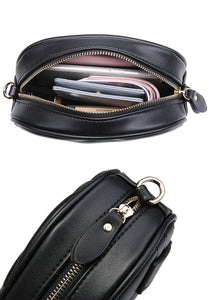 Leather Fanny Pack / Waist Bag For Women (With Belt)