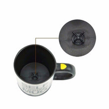 Load image into Gallery viewer, Self Stirring Mug For Coffee, Tea, Milk. Stainless Steel, Electric Automatic Mixing Your Drink- No Spoon Needed