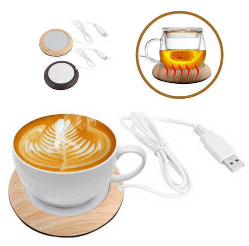 USB Mug Warmer Gadget, Electric Beverage Heater For Office/Home Use