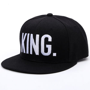 KING & QUEEN Baseball Caps For Men & Women