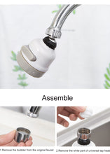 Load image into Gallery viewer, Universal 360° Moveable Kitchen Tap Head
