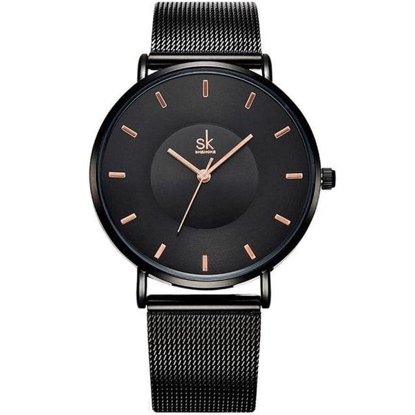 Women's Luxury Ultra Slim Shock Resistant Quartz Wristwatch-Women's Quartz Watches-Junaizo.com