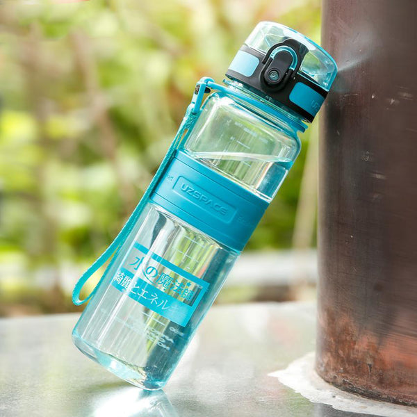 BPA Free 500ml Capacity Portable Shaker Tritan Water Bottle-Water Bottles-Junaizo.com