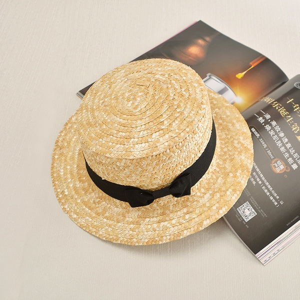 Women's New Fashion Floral Pattern Panama Summer Beach Sun Hat-Sun Hats-Junaizo.com
