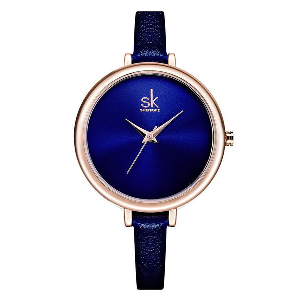 Women's Elegant Fashion Waterproof Slim Quartz Wristwatch-Women's Quartz Watches-Junaizo.com