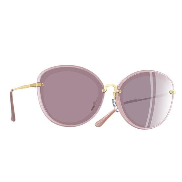 Women's Classic Style Metal Legs Polarized Cat Eye Sunglasses-Cat Eyes-Junaizo.com