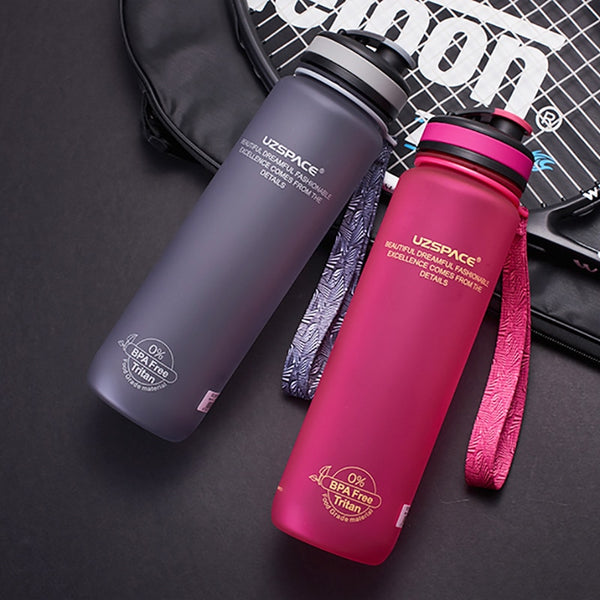 BPA Free 650/1000ml Capacity Portable Shaker Tritan Water Bottle-Water Bottles-Junaizo.com