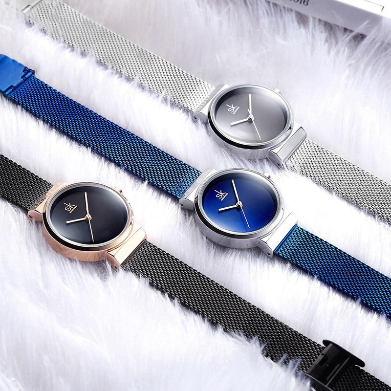 Women's New Luxury Style Shock Resistant Quartz Wristwatch-Women's Quartz Watches-Junaizo.com