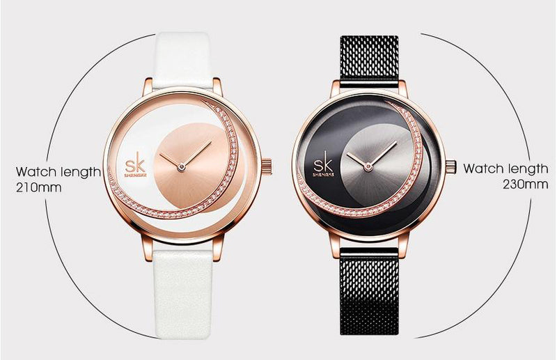 Women's New Style Quartz Movement Water Resistant Wristwatch-Women's Quartz Watches-Junaizo.com
