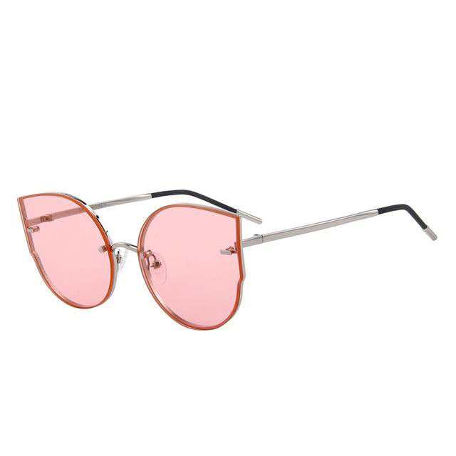Women's New Anti Reflective UV400 Protection Cat Eye Sunglasses-Cat Eyes-Junaizo.com