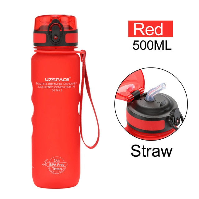 BPA Free 500ml Capacity Portable Leakproof Tritan Water Bottle-Water Bottles-Junaizo.com