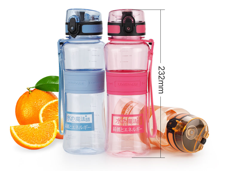 BPA Free 500ml Capacity Portable Eco-Friendly Tritan Water Bottle-Water Bottles-Junaizo.com