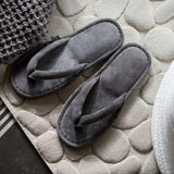 LEATHER ROOM SANDALS, GREY