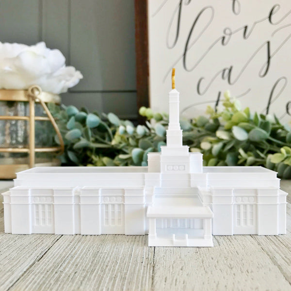 Fresno California Temple Statue
