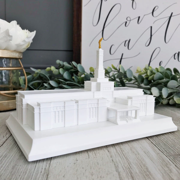Bismarck North Dakota Temple Night Light