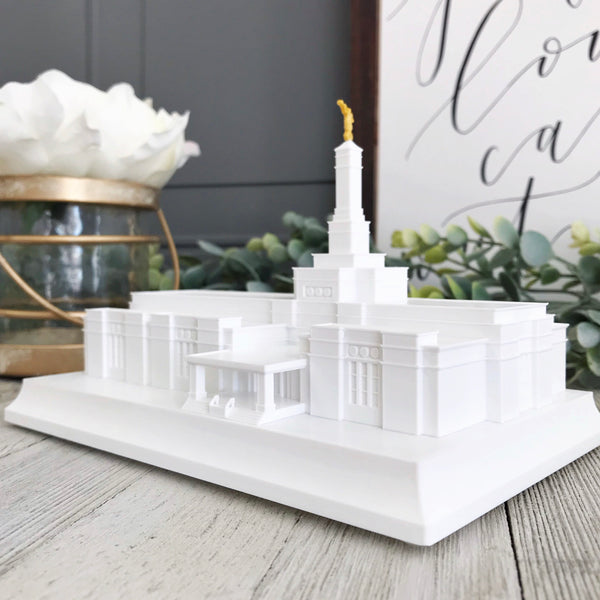 Raleigh North Carolina (Before Reconstruction) Temple Night Light