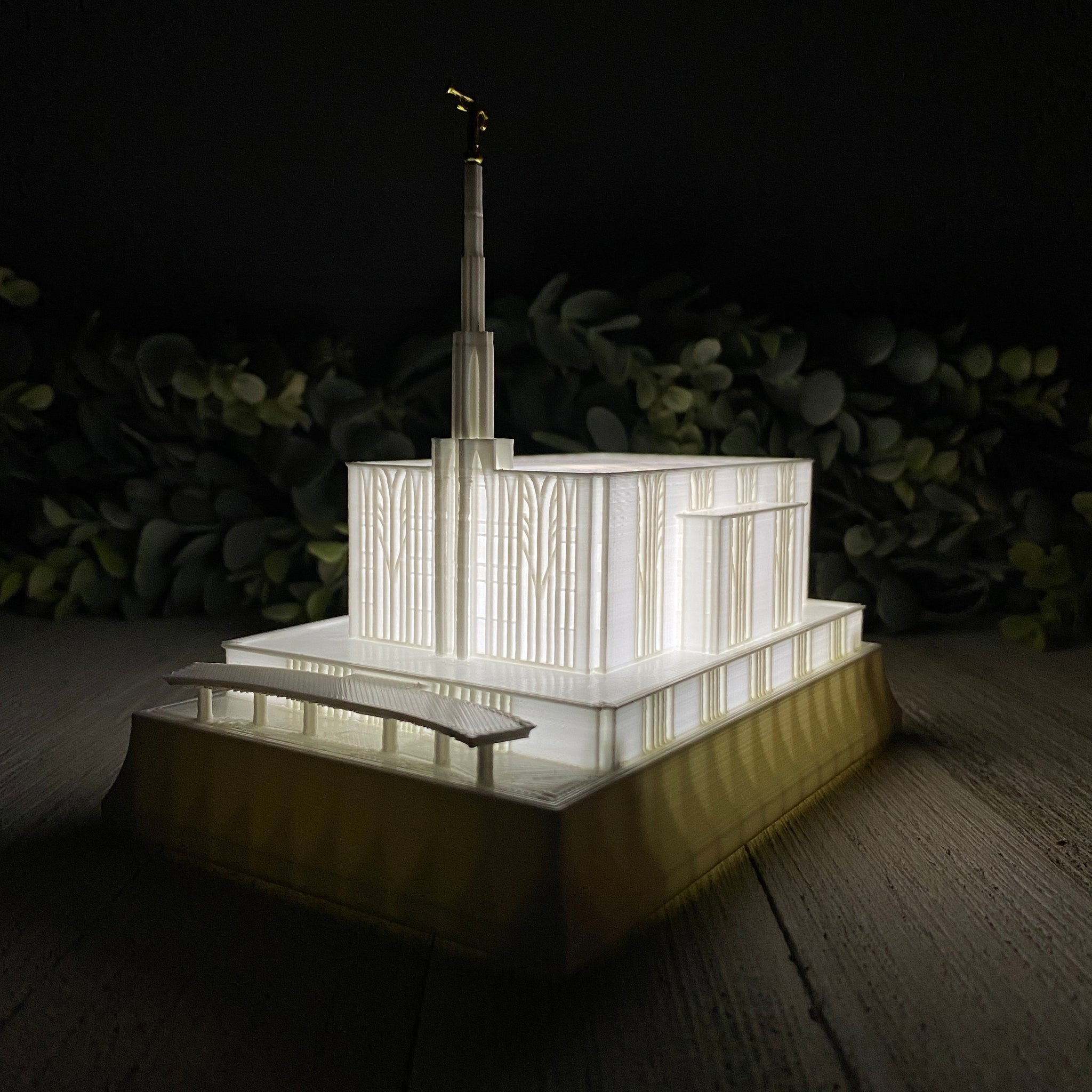 Seattle Washington Temple Night Light