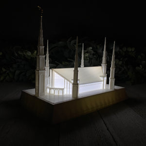 Lima Peru Temple Night Light
