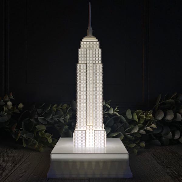 Empire State Building Night Light