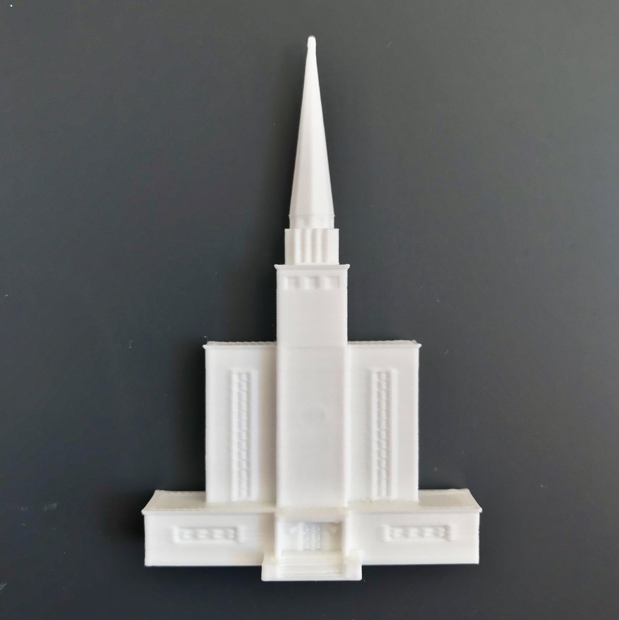 London, England Temple Magnet