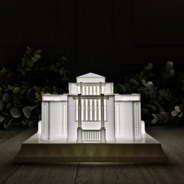 Cardston Alberta Temple Night Light