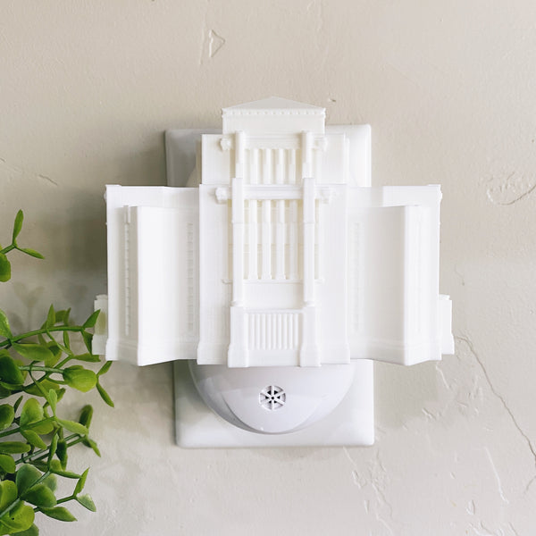 Cardston Alberta Temple Wall Night Light