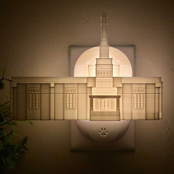 Tuxtla Gutiérrez Mexico Temple Wall Night Light
