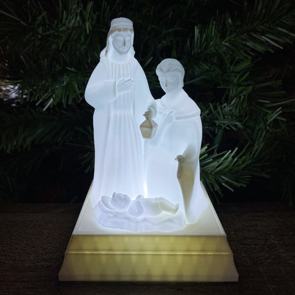 Light-up Nativity