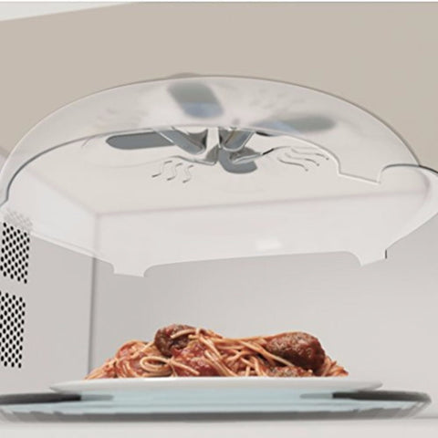 Hover Cover Microwave Splatter Guard