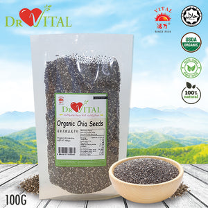 ❤DR VITAL❤ORGANIC CHIA SEED❤ 100G ❤ GST ABSORBED! ❤