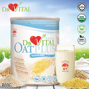 ❤DR VITAL❤ ORGANIC OAT PLUS ❤ 800G ❤ GST ABSORBED! ❤