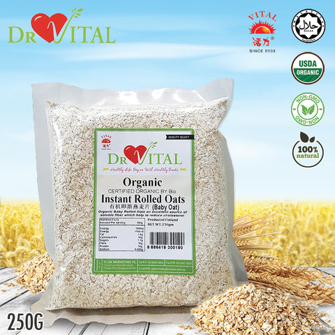 ❤DR VITAL❤INSTANT ROLLED OAT (BABY OAT)❤250G ❤ GST ABSORBED! ❤