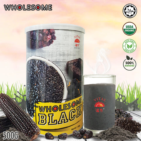 ❤WHOLESOME❤ WHOLESOME BLACK❤500G ❤ GST ABSORBED! ❤
