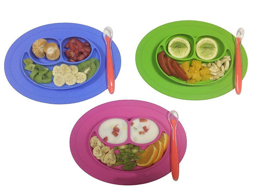Unslippable Baby Plate