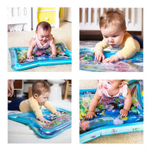 Load image into Gallery viewer, YOUCANTOYS Premium Water MAT | Ready-to-Go Inflatable Play Mat for Boy and Girl | Baby Muscle and Movement Growth | Water Mat + Gift Box | Free Shipping