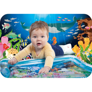 YOUCANTOYS Premium Water MAT | Ready-to-Go Inflatable Play Mat for Boy and Girl | Baby Muscle and Movement Growth | Water Mat + Gift Box | Free Shipping
