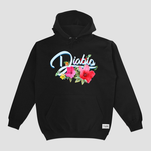 WILD FLOWER OTH HOOD BLACK