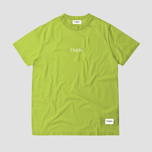 SMALL LOGO TSHIRT LIME