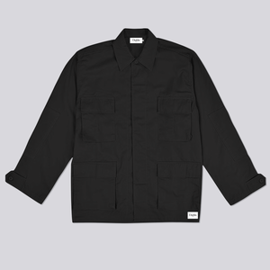 COMBAT OVERSHIRT BLACK